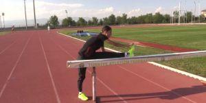 Milli atlet Tuğba Güvenç'in gözü zirvede