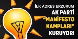 AK Parti'den manifesto kampları