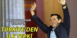 Yunanistan seçimlerine Türkiye'den ilk tepki