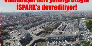 Otogarın otopark işletmesi İSPARK'a devrediliyor