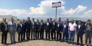 Sinan Ateş'ten Erzurum cezaevine moral ziyareti