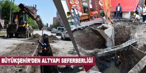 Büyükşehir'den altyapı seferberliği