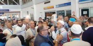 Erzurumlu Hacı adayları kutsal topraklara dualarla uğurlandı