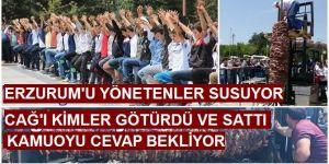 Erzurum'da Cağı Kim götürürdü ve kimlere verdi?