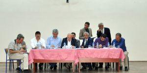 Başkan Sekmen, Pasinler'de muhtarlarla bir araya geldi
