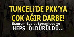 PKK'nın üst düzey isimlerine neşter