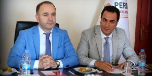 Ömer Düzgün, görevini Murat Söylemez'e devretti