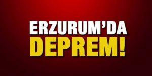 Erzurum'da iki hafif şiddetli deprem meydana geldi
