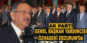 AK Parti Genel Başkan Yardımcısı Özhaseki, Erzurum'da
