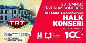 TRT'den 23 Temmuz konseri