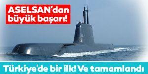 ASELSAN denizaltılar için haberleşme sistem çözümü tedarik etti