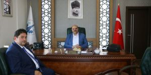 ETB Başkanı Oral'dan, Başkan Orhan'a ziyaret