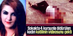 Kayseri'de sokak ortasında öldürülen Gülay Şimşek katilinin videosunu çekmiş