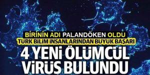 Türk bilim insanları 4 ölümcül virüs keşfetti