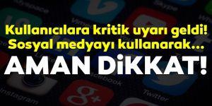Sosyal medya kullanıcılarına 'sahte dost' uyarısı