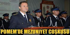 Erzurum POMEM'de mezuniyet coşkusu