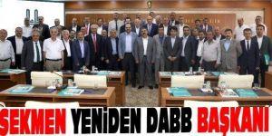 DAB-BİR Başkanlığı'na yeniden Sekmen seçildi