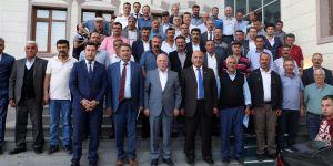 Başkan Sekmen'in ilçe turları devam ediyor