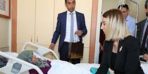 Vali Yardımcısı Büyüker'den hastalara bayram ziyareti