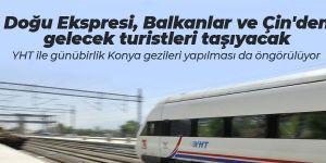 Doğu Ekspresi Balkanlar ve Çin'den gelecek turistleri taşıyacak
