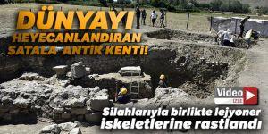 Dünyayı heyecanlandıran Satala Antik Kentinde kazısı sürüyor
