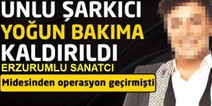 Erzurumlu Fatih Ürek yoğun konser sonrası hastanelik oldu