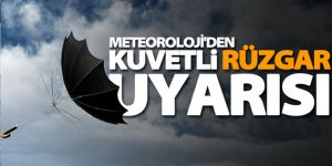Erzurum ve Erzincan'a şiddetli rüzgar uyarısı
