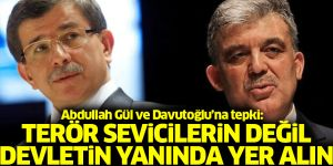 Abdullah Gül ve Ahmet Davutoğlu'nun 'kayyum' açıklamalarına tepki