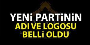 Yeni partinin adı ve logosu ortaya çıktı