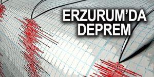 Erzurum'da 3,7 büyüklüğünde deprem