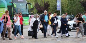 Erzurum'da örnek yardım dağıtımı