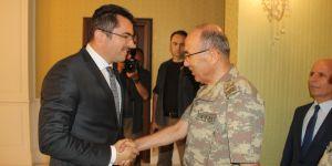 Korgeneral Öngay, ilk ziyaretini Erzurum'a yaptı
