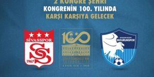 Sivasspor ile Erzurumspor, karşı karşıya gelecek