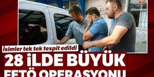 28 ilde FETÖ operasyonu: 53 kişiye yakalama kararı