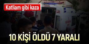 Bitlis'te korkunç kaza! Çok sayıda ölü ve yaralı var