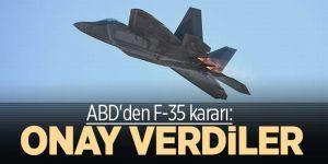 ABD'den F-35 kararı! Polonya'ya satışına onay verdiler
