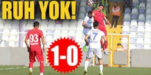 Erzurumspor'un deplasman kabusu sürüyor: 1-0