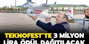 TEKNOFEST'te 3 milyon lira ödül dağıtılacak