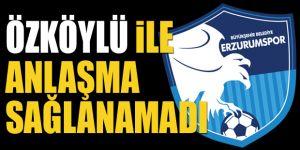 B.B. Erzurumspor, Osman Özköylü ile anlaşamadı