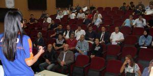 Erzurum'da 'KBRN ve Şüpheli Posta' eğitimleri devam ediyor