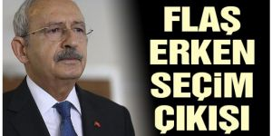CHP lideri Kılıçdaroğlu'ndan 'seçim' açıklaması