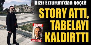 Erzurum'da yılların ayıbını o gördü!