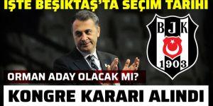 Ve Beşiktaş seçim kararını açıkladı