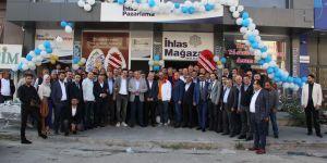 Erzurum'da İhlas Mağazası yeni binası düzenlenen törenle hizmete girdi