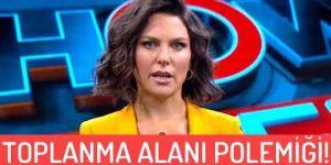 Show TV spikeri Ece Üner'in 'toplanma alanı' göndermesi sosyal medyanın gündeminde