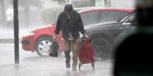 Doğu'da sağanak yağış uyarısı