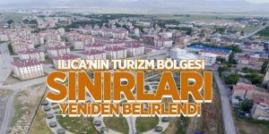 Ilıca turizm bölgesi sınırları yeniden düzenlendi