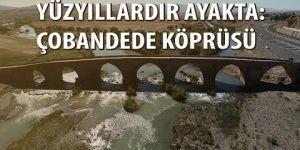 """""""Ecdadın mühendislik harikası"""" köprü yüzyıllardır ayakta"""