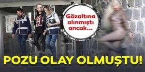 Erzurum'da Gözaltına alınmıştı ama!