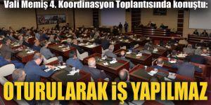Erzurum'da 4. Koordinasyon Toplantısı düzenlendi